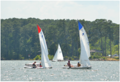 Junior sailing is growing at carolina sailing club